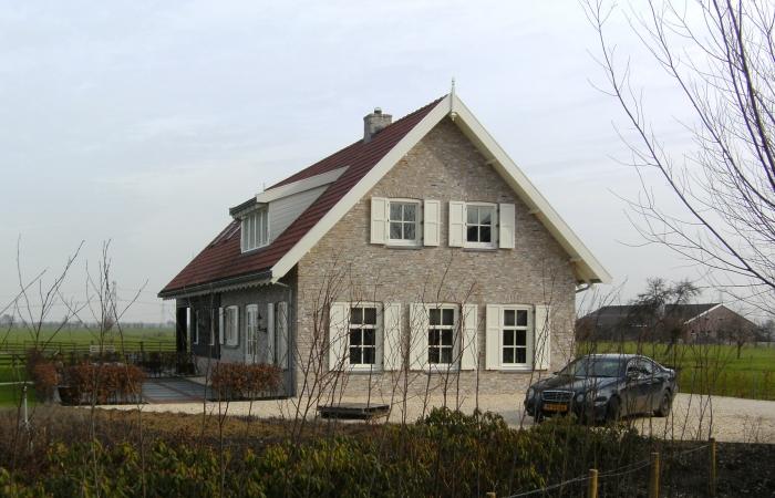 Woning te Oud-Alblas