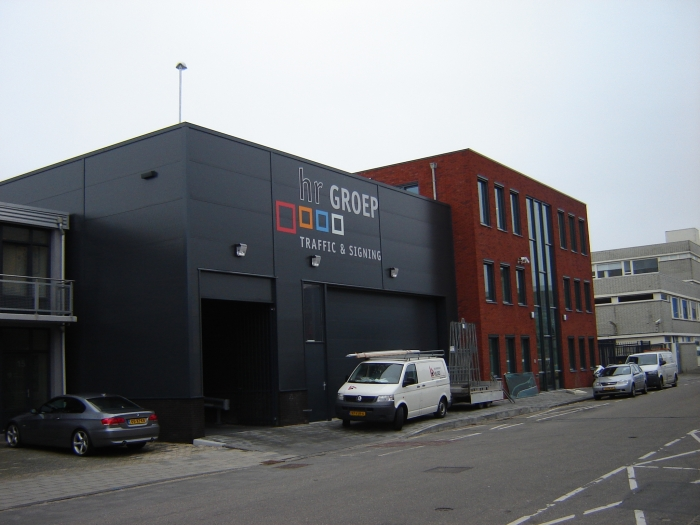 nieuwbouw bedrijfspand te Rijswijk