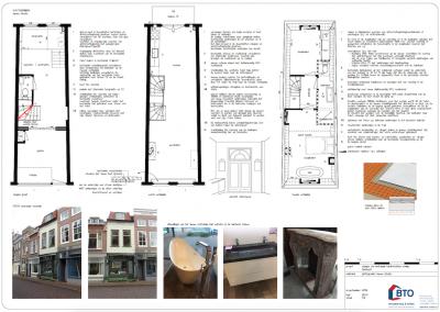 gewijzigde indeling monumentale woning te Dordrecht