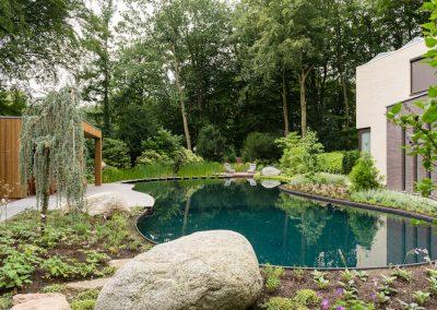 Vergunning en realisatie zwemvijver Wageningen